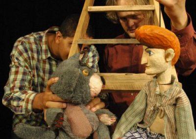 Obuti Maček 1, foto: Mini Teater